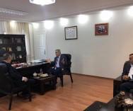 Kadıköy Bel.Başkan Yardımcısı Sayın Mustafa Çetinkaya'nın Odamızı ziyareti