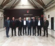 Oda başkanımız Mehmet Emin YARAR' ın katılımıyla sektör temsilcileri İSMEYDER'de biraraya geldi.