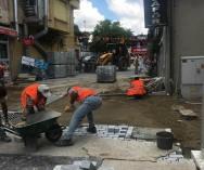 Çengelköy Semt Pazarı Sokağımız Yenileniyor