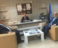 Maltepe Belediyesi'nde Görüşmeler Yapıldı