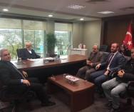Beykoz Belediye Bşk.Sn.Yücel ÇELİKBİLEK,Bşk Yardımcısı Yakup ÖZBEK ve Zabıta Müdür Mehmet Akif KILIÇ ile Beykoz Pazarları hk. Görüşmelerimizi sağladık.
