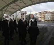 Esatpaşa Kapalı Pazar Alan'ına Geçici olarak Örnek Mah. Pazarı Alanındaki İnşaata başlaması için Ataşehir Belediye Bşk Yardımcısı Deniz KUTLU ile tüm durum değerlendirilmesini son kez gözden geçirdik.