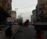 Sancaktepe Eyüp Sultan Mah. Daha Önce açıldığı Müminler Caddesinde Altyapı Çalışmaları tamamlandı.