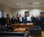 Ticaret Bakanı Esnaf San.Genel Müdürü Necmettin ERKAN ve  Koop. Genel Müdürü Arif Sami SEYMENOĞLU esnaflarımız hakkındaki sorunları ve Çözümleri görüştük.