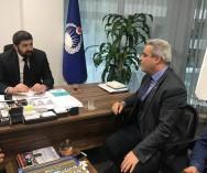 Üsküdar Belediyesi Zabıta Müdürü Mehmet AYVERDİ ile Ünalan Semt  Pazarımızda geliş -gidişte zorluk yaşan müşterilerimiz için ''MÜŞTERİ TAŞIMACILIĞI SERVİS ARACI ' konulacağına yönelik hizmet sözü aldık.
