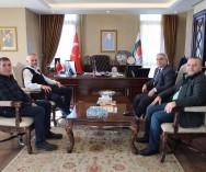 Çekmeköy Belediye Başkanı Sn. Ahmet POYRAZ görüşmelerimizi sağladık.