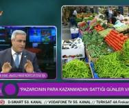 Woman Tv'de Canlı Yayın Programında son dönemlerde meyve-sebzedeki fiyat artışlarının sebeplerini konuştuk.