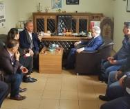 CHP İstanbul Milletvekili Sayın Gürsel TEKİN Tarihi Kent Meycanı Salı Pazarımızda esnaf ve vatandaşlarımızı ziyaret etti .