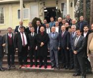 Ankara'daki Hal Derneği'nin düzenlediği Ank.B.Belediye Başk.Adayı Sn.Mehmet Özhaseki'nin de icabet ettiği kahvaltı proğramına Pazarcılar Federasyonu olarak katıldık.