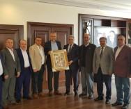Yönetim Kurulumuzla Çekmeköy Belediye Başkanlığı'na Yeniden seçilen Sn. Ahmet POYRAZ Bey'e hayırlı olsun ziyaretinde bulunduk.
