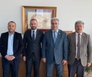 Üsküdar Belediye Başkan Yardımcılığı görevine getirilen Abdurrahman Alp Beyaz'a hayırlı olsun ziyaretinde bulunduk..