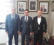 Çekmeköy Belediyesi Başk.Yardımcılığı görevine getirilen Ömer Yazıcı'ya hayırlı olsun ziyaretinde bulunduk.