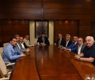 Kadıköy Belediyesi  Başkanı Serdil Dara ODABAŞINA hayırlı olsun ziyaretinde bulunduk.