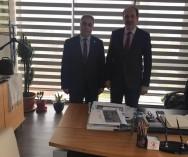 Ümraniye Belediyesi'nde Başk.Yard.Mesut Özdemir Bey'le gündeme ilişkin görüş alışverişinde bulunduk...
