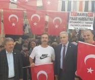 """Hükümetimizin""""BARIŞ PINARI HAREKATI""""na And.Yak.Pazarcılarından tam destek..."""