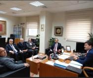 Esnaf,Sanatkârlar ve Kooperatifçilik Genel Müdürümüz Sn.Necmettin Erkan'a  istişarelerde bulunduk.