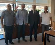 Kadıköy Salı Pazarı ile ilgili; İ.B.B.İştiraki Şirketi İSYÖN Yön.Kur.Başk.Gökhan Günaydın Bey ile görüşmelerimizi sağladık.