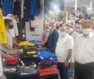 """Yönetim Kurulu arkadaşlarımızla birlikte,Kadıköy Salıpazarı'nda esnaflarımızla istişareler yaparak,görüş alışverişinde bulunduk.""""Maske,mesafe,temizlik""""kuralına uyulmasının önemine dikkat çektik..."""