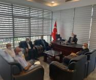 Ümraniye Kaymakamlığı'na atanan Sn.Cengiz Ünsal Bey'i makamında ziyaret ederek,hayırlı olsun dileğinde bulunduk...