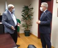 Beykoz Belediye Başk.Yard.Feruz Kutsal Bey ve Zb.Md.Yasin Murat Başkan'la pazarlarımızın genel durumu ve sorunların çözümü konusunda karşılıklı öneri ve görüş alışverişinde bulunduk.