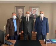 Beykoz Belediyesi Zb.Müdürlüğü görevine getirilen Murat Avşar'a hayırlı olsun ziyaretinde bulunduk...Rabbim iyi ve faydalı hizmetlerde bulunmayı nasip etsin inşaallah...