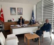 Ümraniye Belediyesi'nde;Başk.Yard.Mesut Özdemir Bey ve Zb.Md.Nejat Ergün Bey'le pazarlarımızla ilgili görüş alışverişinde bulunduk...