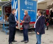 Taşdelen(Çekmeköy),Dudullu (Ümraniye),K.Bakkalköy(Ataşehir)Pazarlarımızdaki pazarcı esnaflarımızla istişarelerimizi yaparak,sorun ve taleplerini dinledik...