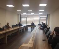 Ümraniye Belediyesi'nde;Komisyon Başkanlığı'nı,Başk.Yard.Mesut Özdemir Bey'in yaptığı toplantıya komisyon üyeleri olarak Odamızı temsilen katılım sağladık