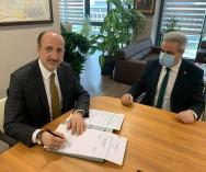 Odamız ile Ümraniye Belediyesi arasında 2021 yılının HİZMET PROTOKOLÜNÜ imzaladık.