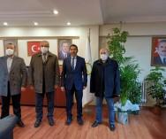Görev değişikliğiyle Kadıköy AK PARTİ İlçe Başkanlığı'na gelen Av.Fatih Kaya ve yönetimine hayırlı olsun ziyaretinde bulunduk...