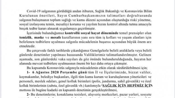 TEMİZLİK,MASKE ve SOSYAL MESAFE kuralları..